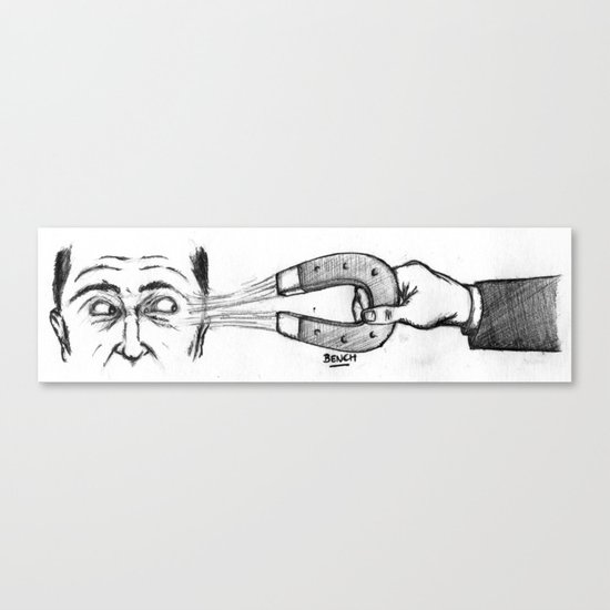Faits-Diversion Canvas Print