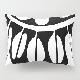 Lady in Black Pillow Sham