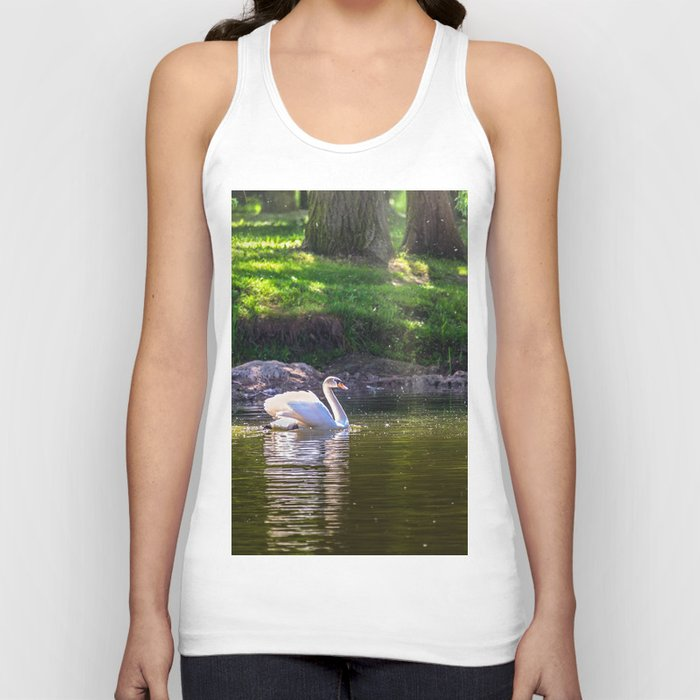 In the old park Unisex Tank Top