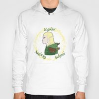 legolas Hoodies featuring Legolas by Art of Tyler Newcomb