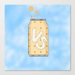 Vaguely Soda Canvas Print