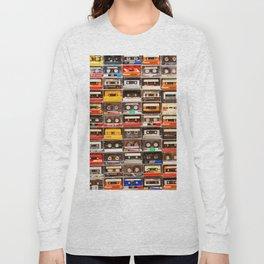 Something Nostalgic V - Music - Global Language #decor #society6 #buyart Long Sleeve T-shirt