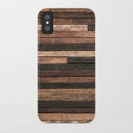 Vintage Wood Plank iPhone Case