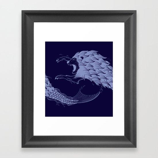 Merlion Framed Art Print