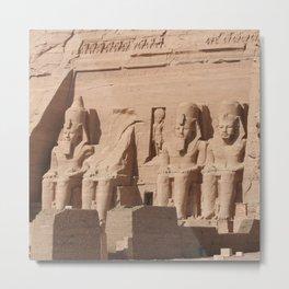 Abu Simbel 001 Metal Print
