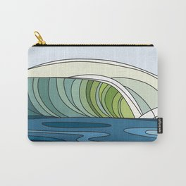 Stylized wave #11 Carry-All Pouch