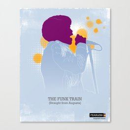 The Funk Train Canvas Print