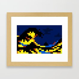 Pixewave Framed Art Print