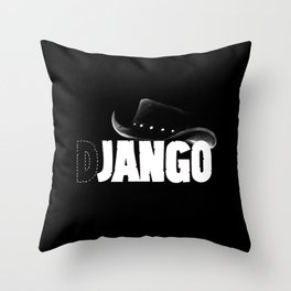 The D is silent Throw Pillow