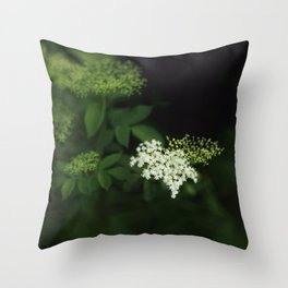 A bunch of lonesome flowers Throw Pillow