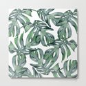 Tropical Palm Leaves Green by followmeinstead