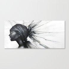 Nefertiti B&W Canvas Print