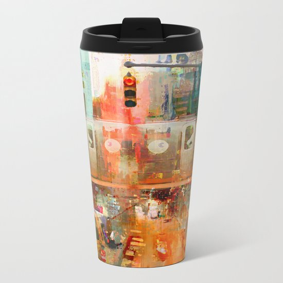 It's Only Mystery Metal Travel Mug