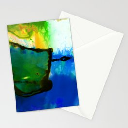 Abstract Bliss 4I by Kathy Morton Stanion Stationery Cards