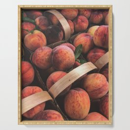 Just Peachy Serving Tray