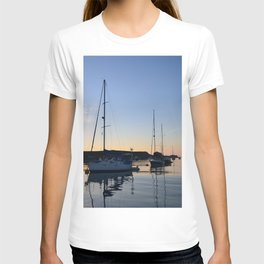 Tranquil Moorings In The Isles Of Scilly. T-shirt