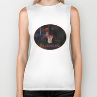 basketball Biker Tanks featuring Basketball by LoRo  Art & Pictures