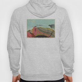 Vintage Geology and Meteorology Diagram (1893) Hoodie