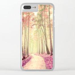 Dreamwalk Clear iPhone Case