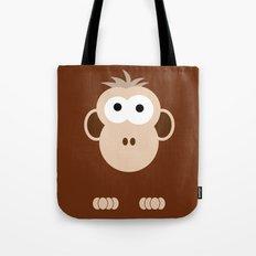Minimal Monkey Tote Bag
