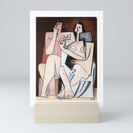 Pablo Picasso, Homme et Femme 1921 Artwork for Wall Art, Prints, Posters, Tshirts, Men, Women, Kids Mini Art Print