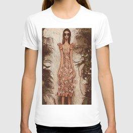 Resort  floral T-shirt