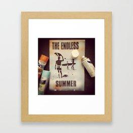 The Endless Stencil Framed Art Print