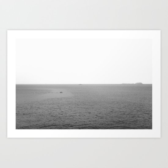 Minimalist Seascape Art Print