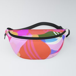 Abstract Florals I Fanny Pack