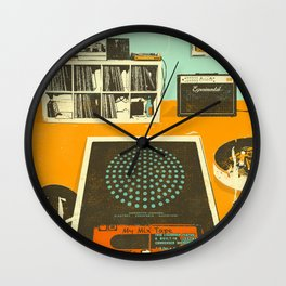TAPE PARTY Wall Clock