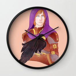 Leliana / THE RAVEN QUEEN Wall Clock