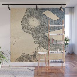 The ring of the Hesitate.(Color) Wall Mural