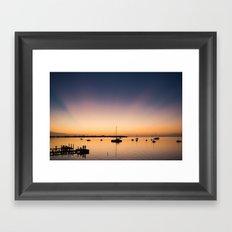 Key Largo Sunset Framed Art Print