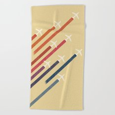 Aerial display (ver.2) Beach Towel
