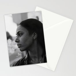 Woman in Harlem Stationery Cards