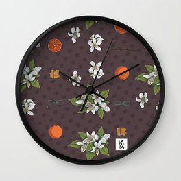 Biscotti all'arancia Wall Clock