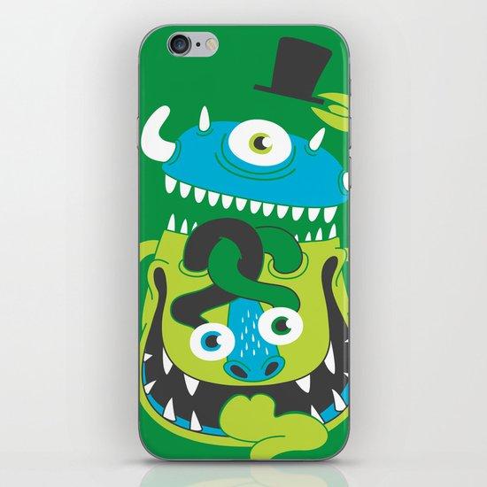 Mister Greene iPhone & iPod Skin