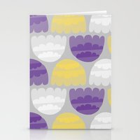 jelly fish Stationery Cards featuring Jelly-fish by Leanne Oughton