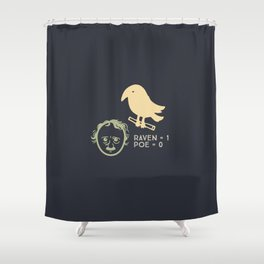 Poe & Raven (designer) Shower Curtain