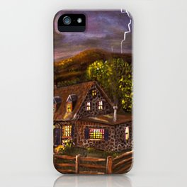 "Ave Hurley ""Camp Verde"" iPhone Case"