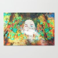serenity Canvas Prints featuring Serenity by J.Lauren