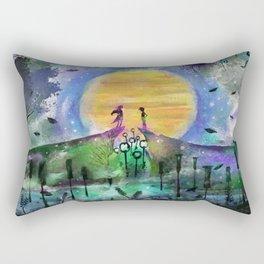 Eons It Seems Rectangular Pillow