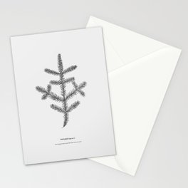 Spruce twig Stationery Cards