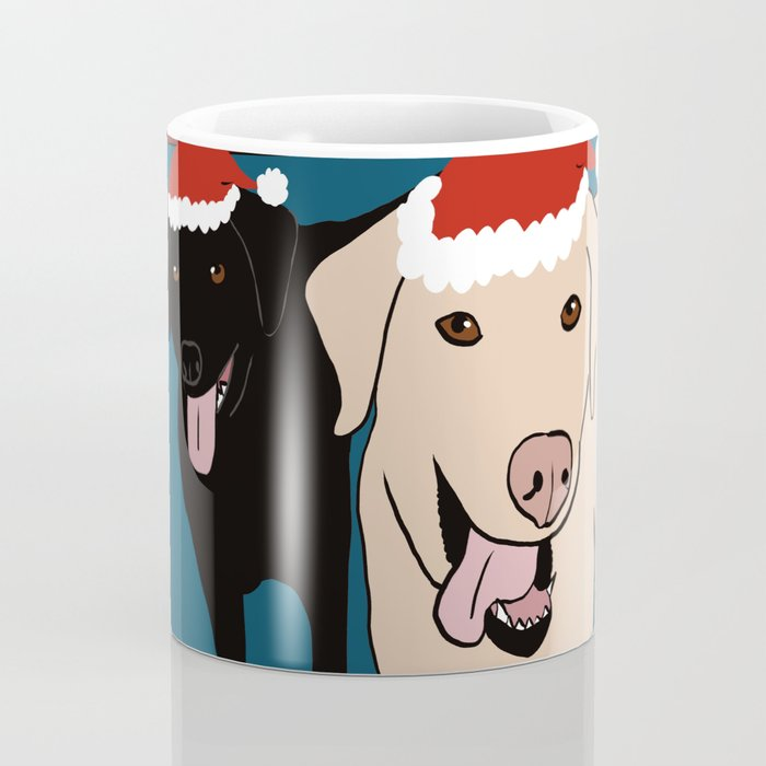 Labs Love Christmas! Coffee Mug