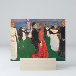 Edvard Munch, The Dance of Life Mini Art Print