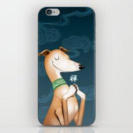 Zen Hound iPhone Skin