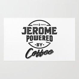 Jerome Powered by Coffee Rug