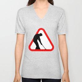 Cool Croquet  Tshirt Unisex V-Neck