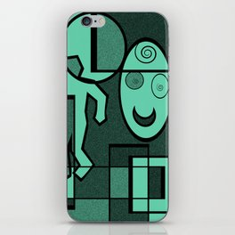 Whodunnit iPhone Skin