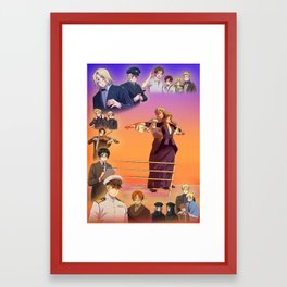 Nearer, My God Framed Art Print